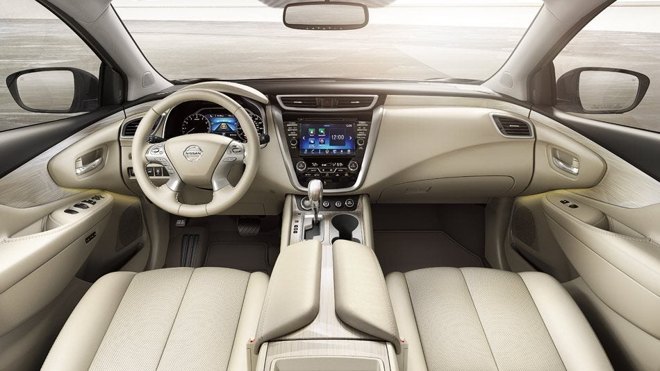 2016 Nissan Murano Interior Technology