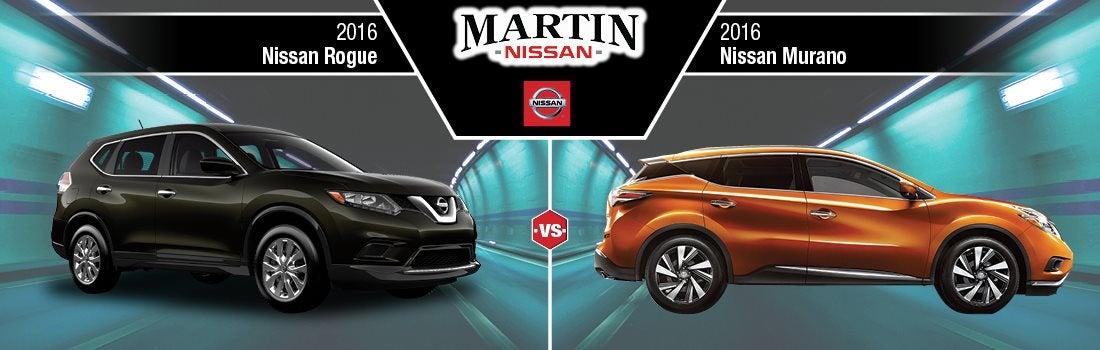 Nissan Rogue Vs Murano >> New 2016 Nissan Rogue Vs Nissan Murano Price Mpg Review Skokie Il